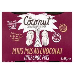 Coconut Collaborative Little Chocolate Pots Dairy Free 4X45g - Groceries - Tesco Groceries