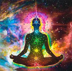 "Chakra Healing Energy Print by world renowned ""Energy Artist Julia."" -- Experience Amazing Chakra Healing Through This Channeled, Energy Enhanced Creation -- Clears & Unblocks Your Chakras 7 Chakras, Chakra Healing, Chakra Meditation, Learn Meditation, Healing Spells, Sacral Chakra, Healing Power, Throat Chakra, Healing Herbs"