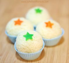 """""""Cute Food For Kids"""" ?: How to make sandwich balls (sandwich cupcakes)"""