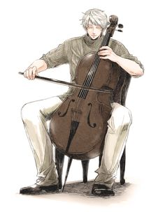 Ivan(Russia) fanart, hetalia... I see you're playing in fourth position there...