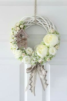 ideas videos decor ideas nz decor ideas kmart ideas stage ideas around tv mug ideas decor ideas decor quotes ideas Wreath Crafts, Diy Wreath, Door Wreaths, Grapevine Wreath, Easter Wreaths, Holiday Wreaths, Deco Floral, Summer Wreath, How To Make Wreaths