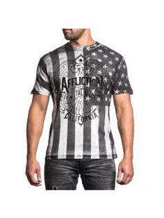 Men's T-Shirt Affliction Metalworks