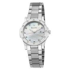 Bulova Women's 96R124 20 Diamond Mother of Pearl Dial Bracelet Watch Bulova,http://www.amazon.com/dp/B002WJIPYK/ref=cm_sw_r_pi_dp_njbTrbCE4B7C4682