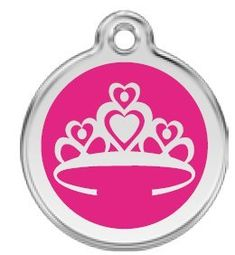 Tiara Pet Id Tag  Small 45 -- Check this awesome product by going to the link at the image.(This is an Amazon affiliate link and I receive a commission for the sales)