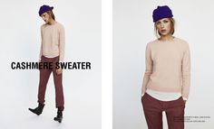 ROUND NECK CASHMERE SWEATER - Available in more colours