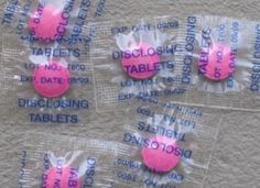 Remember when you got these tablets when you went to the dentist or the dentist came to school?