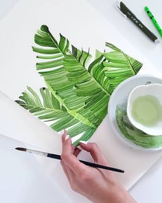 Houdt van: 216 k Watercolor Illustration, Watercolor Paintings, Watercolors, Art Sketches, Art Drawings, Simple Art, Botanical Art, Art Techniques, Painting & Drawing