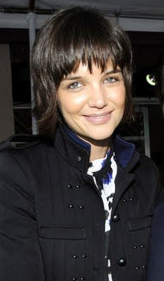 Celebrity Hair Cuts: Katie Holmes