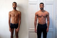GYM MUSCLE GAIN BODY TRANSFORMATION CAPTAIN AMERICA WITH FREELETICS GYM
