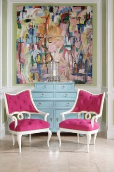 new decorating with pink - Google Search