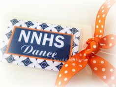 So cute for a Dance team or Squad to match with bag tags!    Personalized Customized DANCE Luggage Bag by chocolatetulipdesign, $7.00