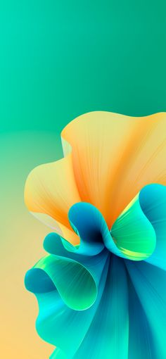 Volant – Green and Orange