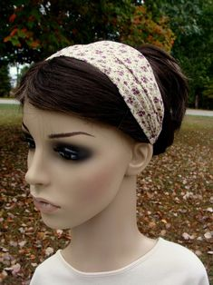 ADULT Headband Sewing Pattern PDF Wide Yoga Headband Pattern   Etsy Turban Headband Tutorial, Yoga Headband, Headband Pattern, Bandana Styles, Headband Styles, Fabric Headbands, Turban Headbands, Sewing Tutorials, Sewing Patterns