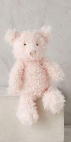 fuzzy pink piggy <3