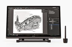 0c0a28a35 Pen display Xp Pen Artist 22 HD by samserius on  creativemarket 3d Face