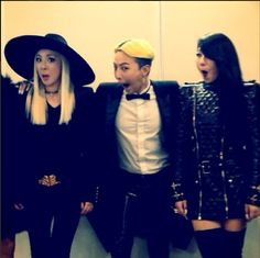 G-Dragon-G-Dragon with labelmates Dara, CL from Cl Instagram, G Dragon Instagram, Daesung, K Pop, South Korean Girls, Korean Girl Groups, Kanye West, Cl Rapper, Gd And Cl