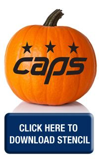 Caps Pumpkin Stencils - Washington Capitals - Fan Zone
