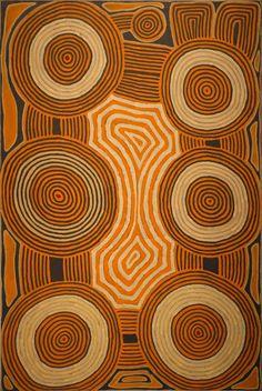 Ronnie Tjampitjinpa ~ Fire Dreaming at Murmunya, 2003