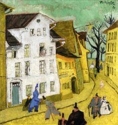 Town, Lyonel Feininger - 1910