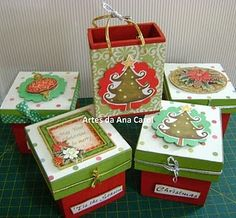 decorate your boxes for christmas