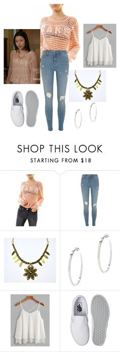 """""""The Fosters"""" by blueyekittan29 on Polyvore featuring River Island, Vita Fede and Vans"""