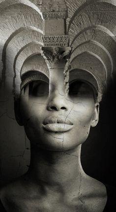 Double Exposure Photography, Art Photography, Levitation Photography, Surrealism Photography, Girl Face Drawing, Foto Art, Surreal Art, Fractal Art, Photo Manipulation