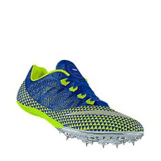 Mens Nike Zoom Victory Sprinters Track Spikes Size 12 Blue/Green ...