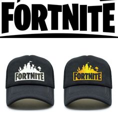 bac02608 FORTNITE Trucker Cap with Adjustable Strip Hats Adult Size
