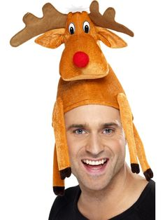 Bean look! A reindeer hat like your turkey one!!