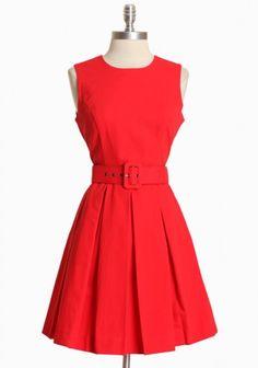 Audrey Belted Dress