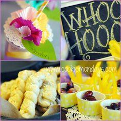 Tangled Birthday Party: Food & Setup Ideas
