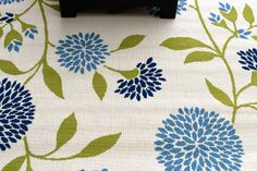 Deck Makeover {Laura Leigh Designs}, floral rug