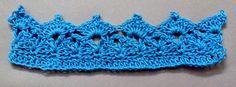 Puntilla N° 14 a crochet