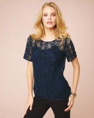 Kenna Fashion – Welcome! Luxury Lace T Shirt $103.00