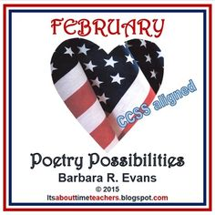 $ POETRY POSSIBILITES for FEBRUARY is a collection of 17 poems just for Feb. Includes skill lessons, teaching points, and activities.