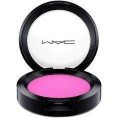 Mac Powder Blush, 0.21 oz ($16) ❤ liked on Polyvore featuring beauty products, makeup, cheek makeup, blush, saucy miss, powder blush and mac cosmetics
