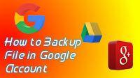 Cara Backup Data Android ke akun Google Google Account, Smartphone, Android