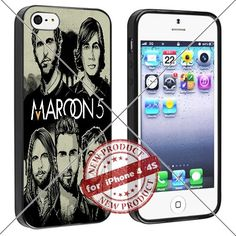 New Apple iPhone 4/4S Case Maroon 5 Cool Cell Phone Case Shock-Absorbing TPU Cases Durable Bumper Cover Frame Black Lucky_case26 http://www.amazon.com/dp/B018KOQZ0G/ref=cm_sw_r_pi_dp_K9-wwb0ECKJ5X