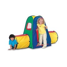 Kids love Play Tents and Tunnels, they become a mecca of creation and fantasy in mere moments. Kids crawl into a tent and their imaginations take. Play Tunnel, Kids Tunnel, Toys For Us, Kids Toys, Thing 1, Preschool Games, Imaginative Play, Outdoor Play, Baby Birthday