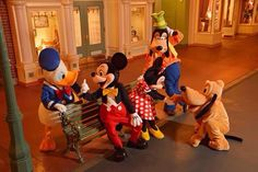 ★ Donald Duck, Mickey Mouse,Minnie Mouse, Goofy,and Pluto the Dog. Disney Fan, Disney Theme, Disney Dream, Disney Love, Disney Parks, Walt Disney, Disney Travel, Disney Stuff, Disney World Characters