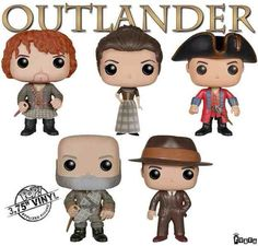 #Outlander #Funko Pop. I want these ( not the Frank/BJR )