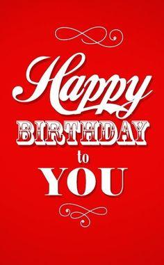 Happy Birthday to you - red - Custom edit by lechezz