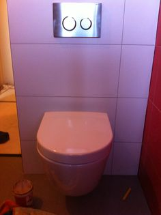 Het nieuwe toilet villeroy & boch