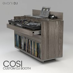 "14 Likes, 2 Comments - Evoni DJ (@evonidj) on Instagram: ""Oslo Oak is perfect for COSI DJ Furniture, what do you think? Check out our website link in bio."""