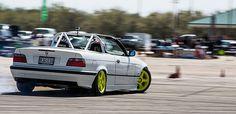 Drifting e36 cabriolet