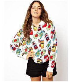 Stylish Hooded Long Sleeve Spliced Pocket Design Denim Women's ...