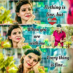 Movie Love Quotes, Favorite Movie Quotes, True Love Quotes, Best Love Quotes, Romantic Love Quotes, Picture Quotes, Crazy Quotes, Girl Quotes, Tamil Love Poems