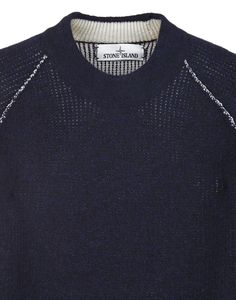 518D1 MAGLIA REVERSIBILE Knit in Blue