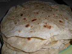 Flour Tortillas-sodium free (low sodium opt) could use whole wheat flour which would make it tanduri roti Sodium Free Recipes, Salt Free Recipes, Low Sodium Bread, Low Sodium Snacks, Low Iodine Diet, Renal Diet, Cardiac Diet, Ketosis Diet, Dash Diet Recipes