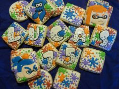 Splatoon Cookies | Cookie Connection
